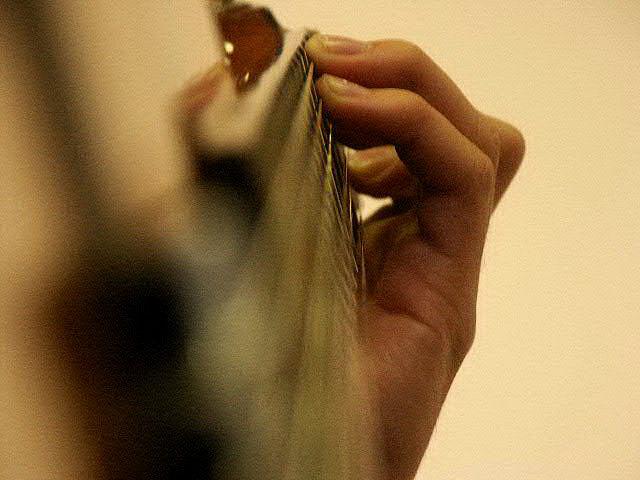 10 ошибок начинающего гитариста. Ошибка 4